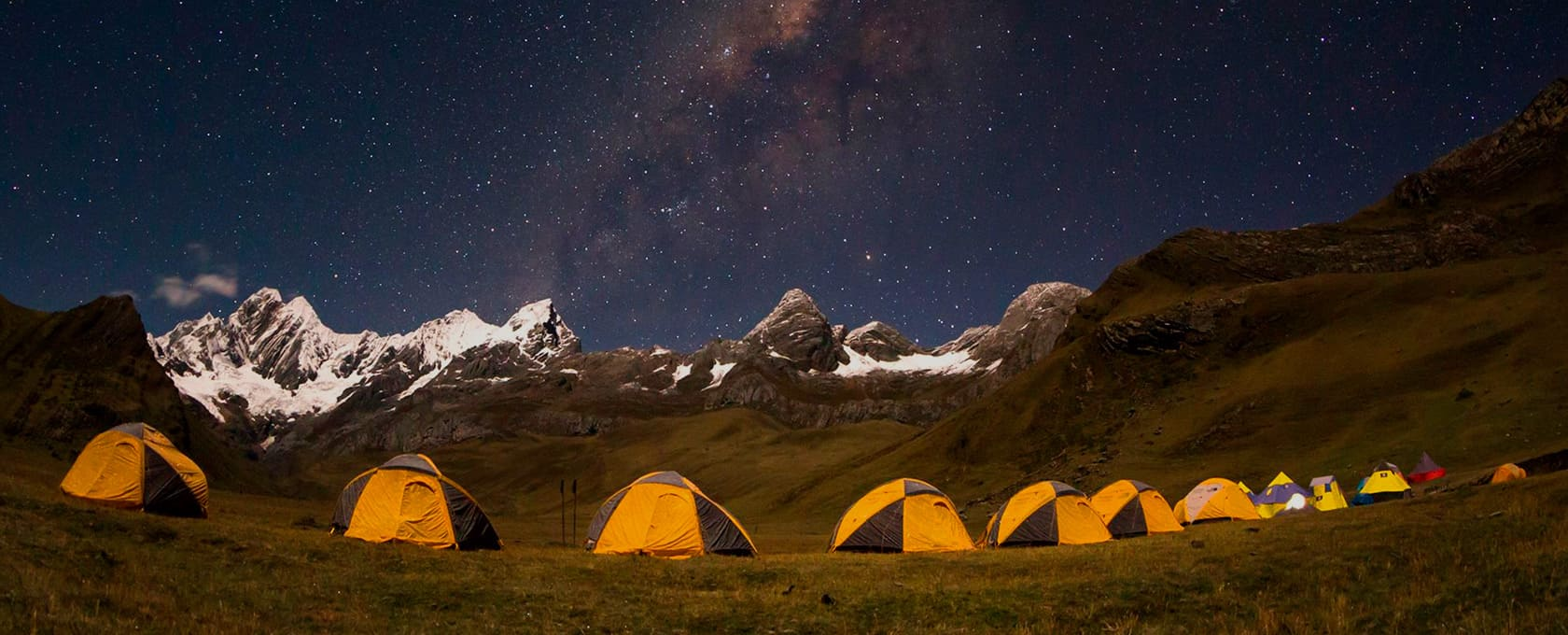 Expedition in the Cordillera Blanca to the most beautiful mountain in the world